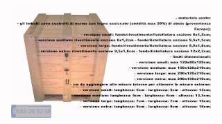 Cassa in legno Video