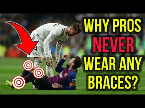 WHY PRO FOOTBALLERS NEVER WEAR ANKLE OR KNEE BRACES?