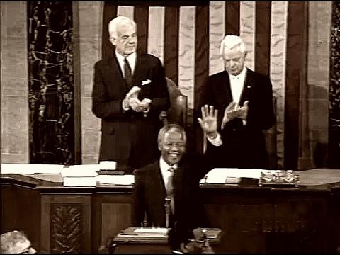 Nelson Mandela -  First Address to the U.S. Congress