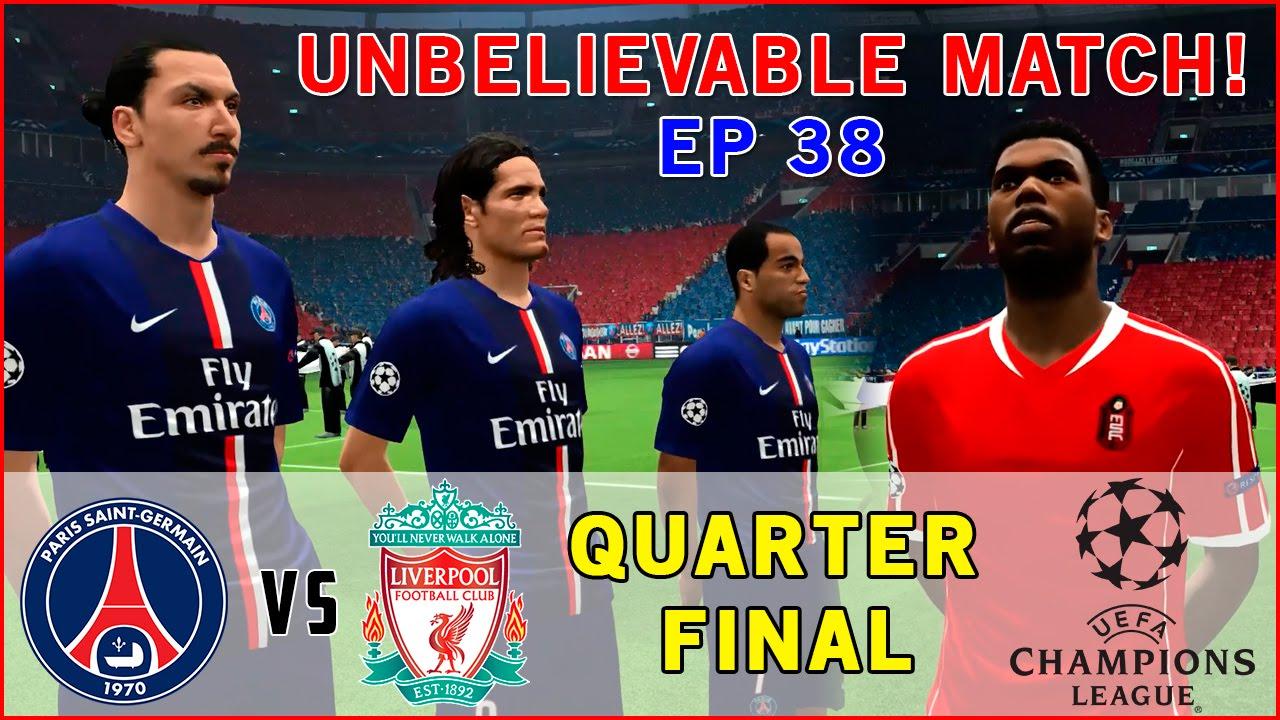 [TTB] PES 2015 - PSG vs Liverpool - Unbelievable Match ...