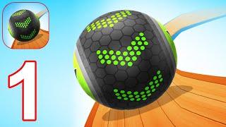 Going Balls - Gameplay Walkthrough Part 1 Levels 1-15 (Android, iOS) screenshot 1