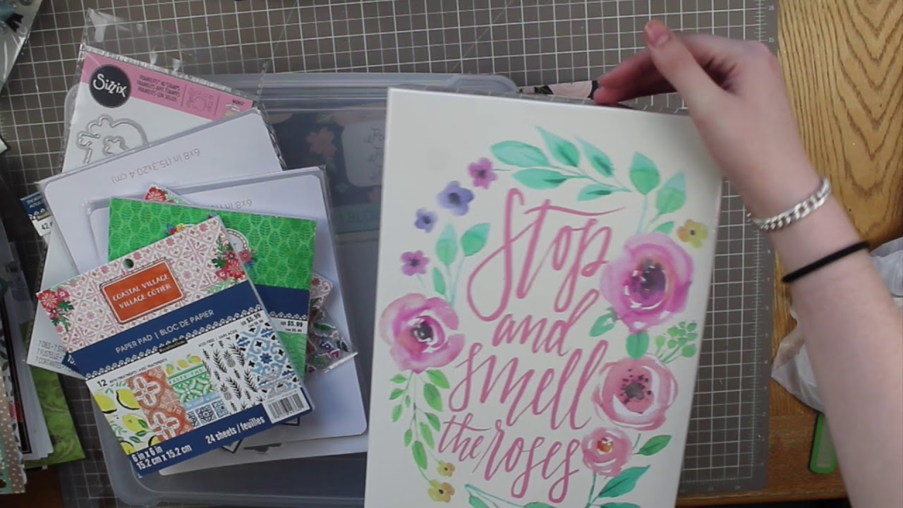 June Crafty Haul Giveaway Michaels Joanns Amazon Youtube