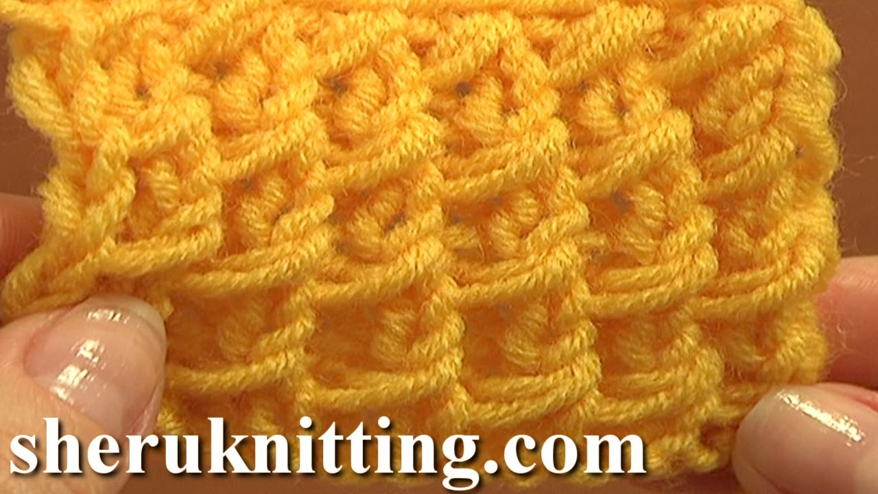 Free Knitting Stitch Pattern Tutorial 3 Easy to Knit Stitch Paterns ...