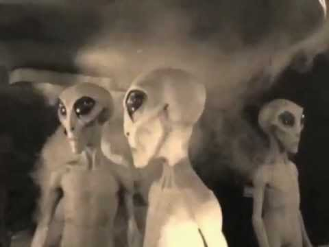 UFO Museum at Night