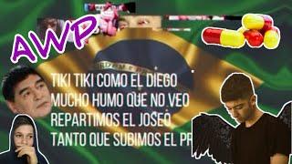 REACCION a AWP, DEMON CHILL x D JAM/ Tomi Vlogs