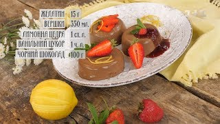 Шоколадна пана-кота - рецепти Сенічкіна