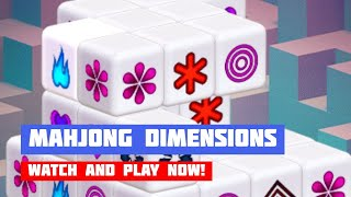 Mahjong Dimensions · Game · Gameplay
