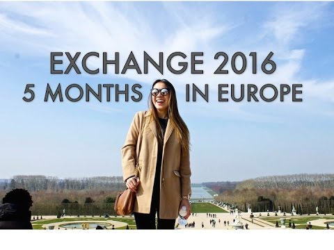European Exchange 2016 | 5 Months in Europe TRAVEL VLOG