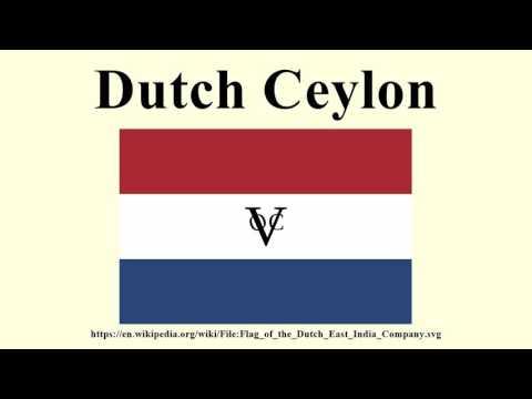 Dutch Ceylon |