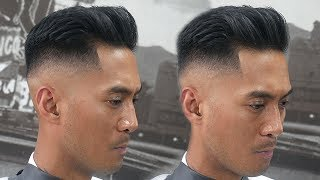 HOW TO DO A SKIN FADE COMB OVER || MEN'S HAIRCUT TUTORIAL