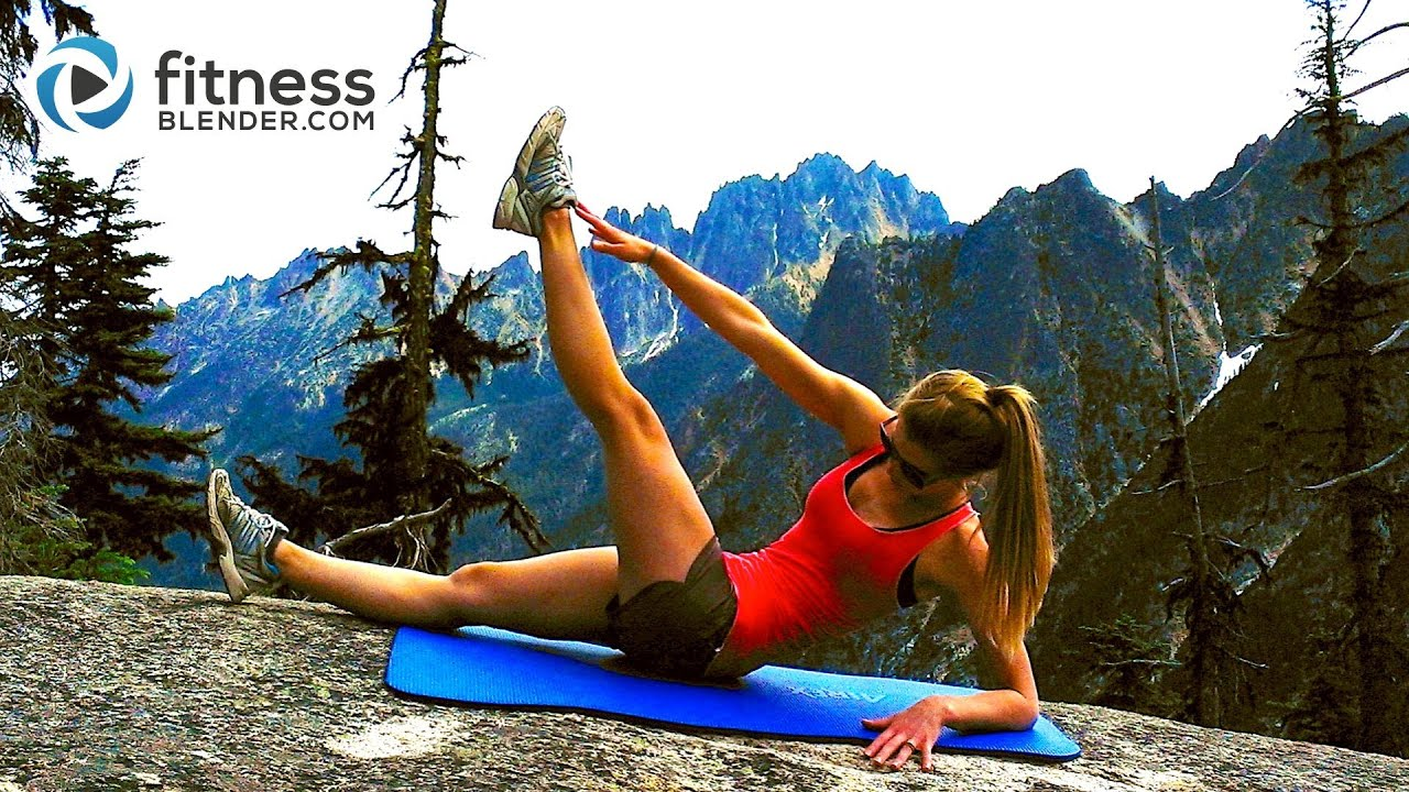 Mountain Top Abs Workout -- Toning Abs & Obliques Workout ...