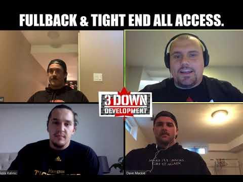 Make Fullback's Great Again: CFL FULLBACK/ TIGHT END ALL ACCESS.