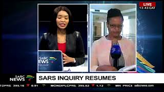 SARS inquiry resumes