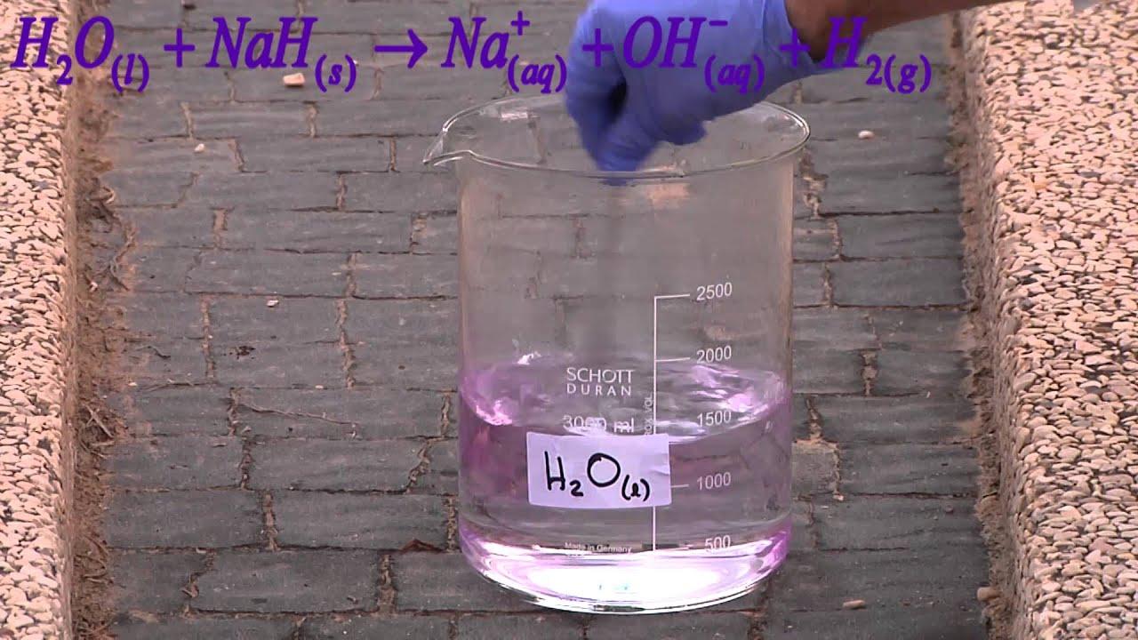 how to prepare sodium hydride