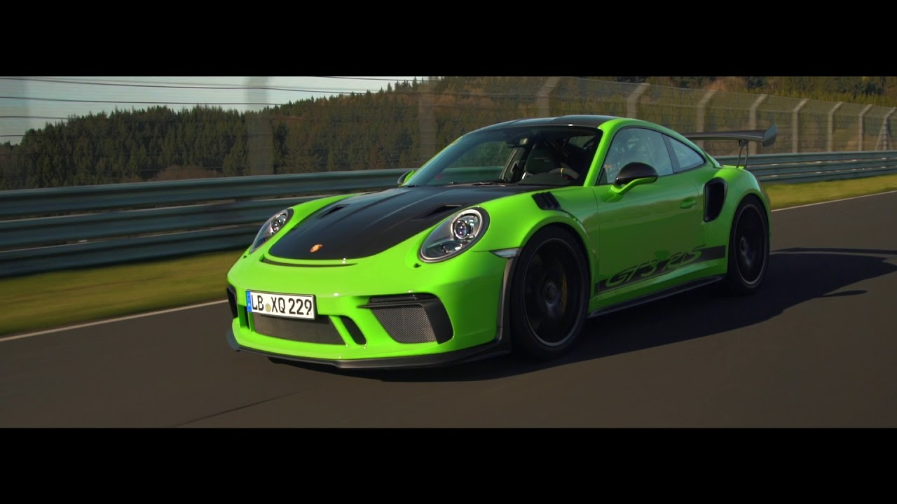 Setting Another Benchmark The  Gt Rs At The Nurburgring Nordschleife Porsche