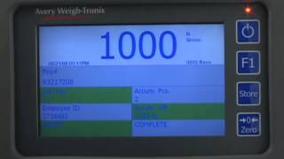 aw t flsc fli 425 advanced forklift truck scale operation video