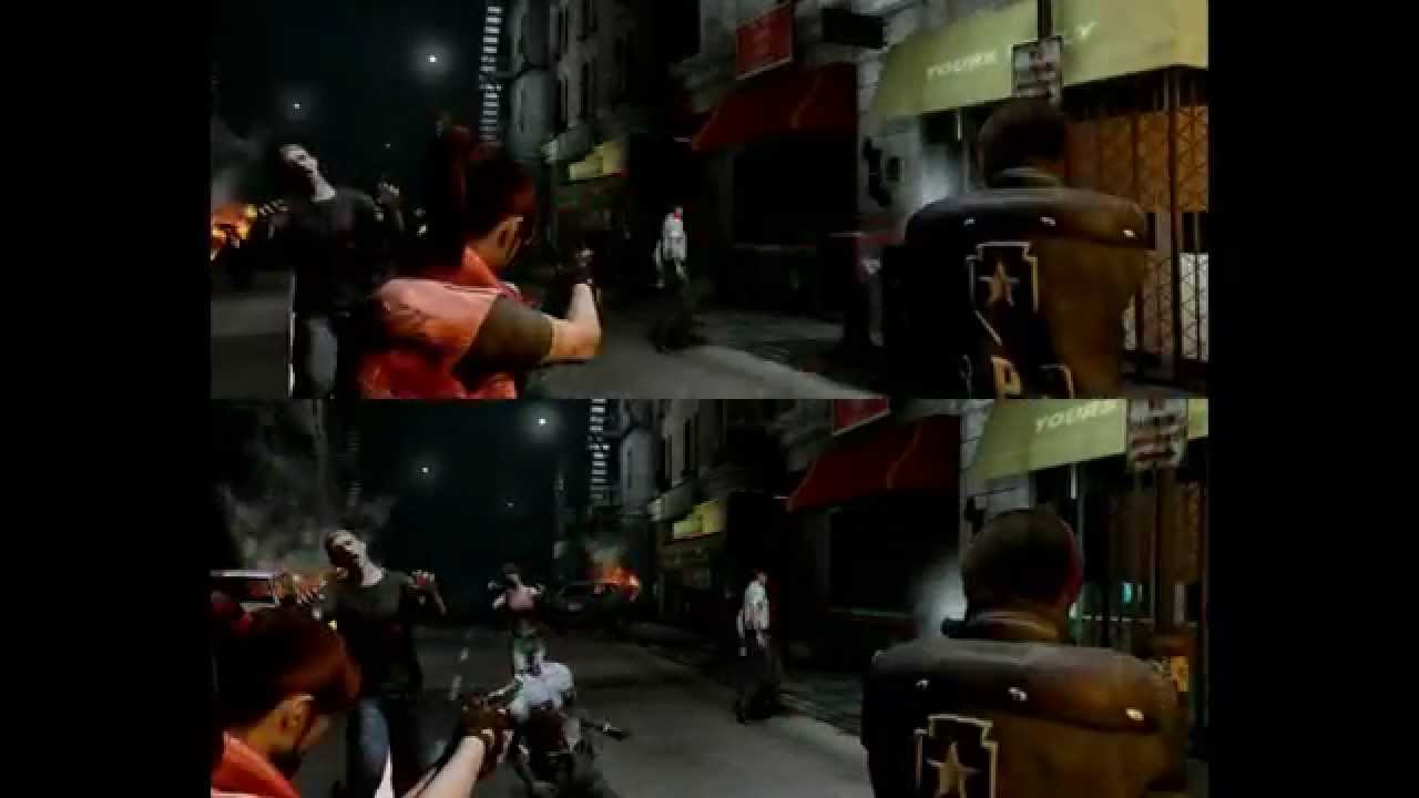 Resident Evil 2 Remake project - UDK - part final + free CO-OP ss test