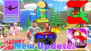 "Roblox- ""Magnet Simulator!"" ""Episode 13"" Neues Update 15!!!"