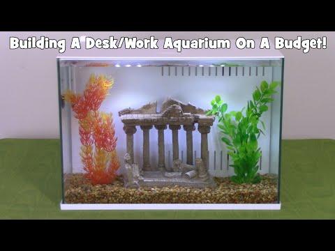 Building A NICE Desk/Work Aquarium On A Budget!