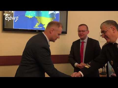 Телерадіостудія Бриз МО України: Директор програми НАТО DEEP Україна Маріуш Соліс завітав до Інституту ВМС НУ «ОМА»