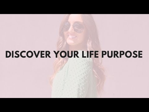 DISCOVER YOUR LIFE PURPOSE.