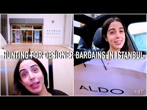 HUNTING FOR DESIGNER BARGAINS IN ISTANBUL | THE ISTANBUL LITE Vlog 17