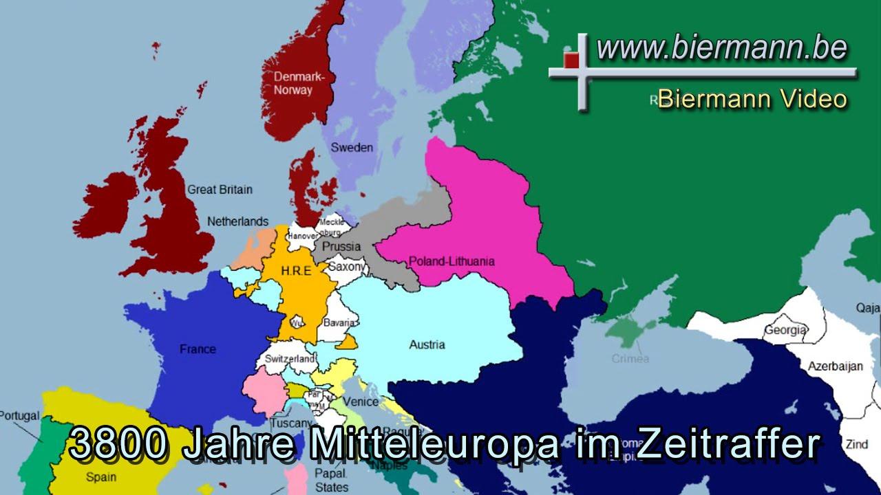 3800 Jahre Mitteleuropa Im Zeitraffer Youtube