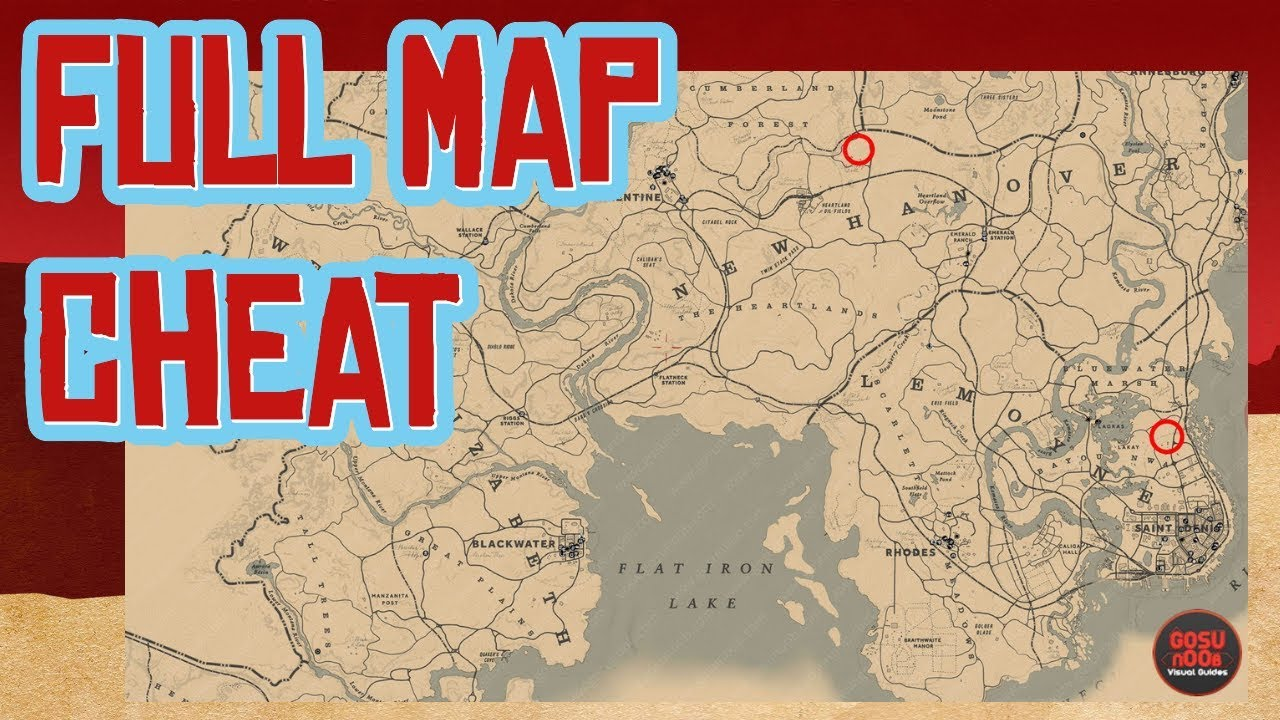 Red Dead 2 World Map.Red Dead 2 Full Map Cheat Youtube