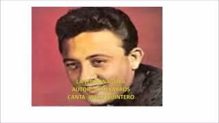 LA LLORONA LOCA  AUTOR  JOSÉ BARROS  CANTA  WILLY QUINTERO
