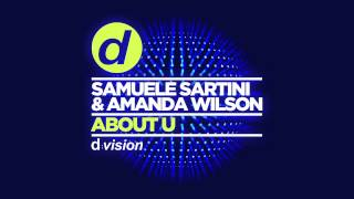 Samuele Sartini & Amanda Wilson – About U [Cover Art]