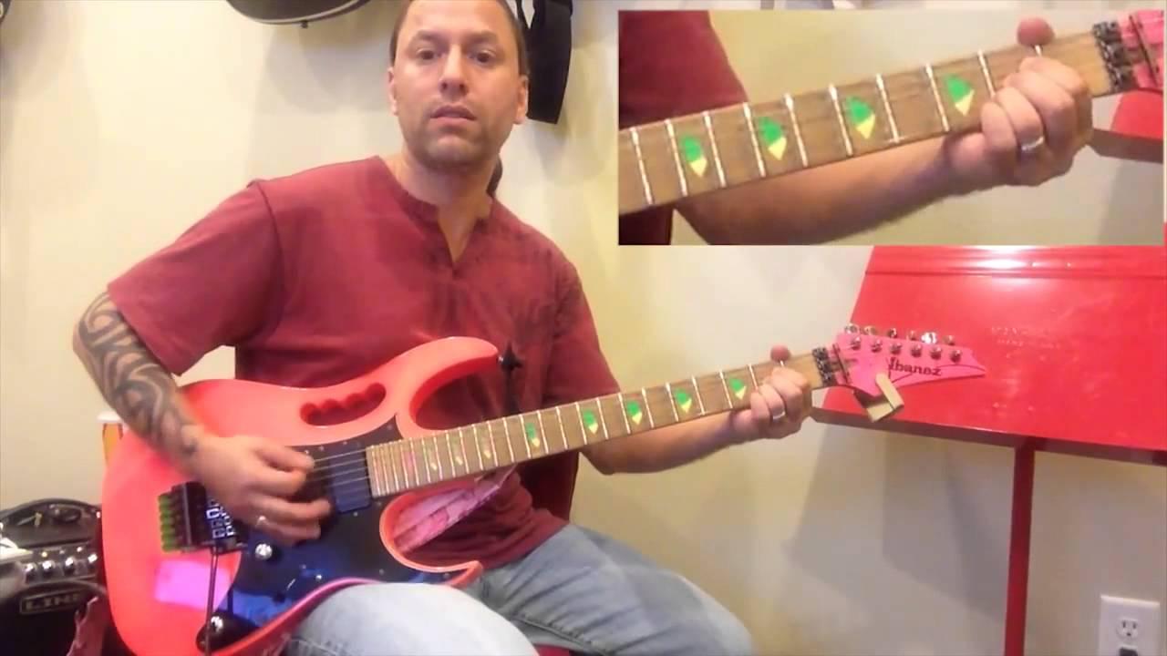 steve stine guitar lesson learn how to play summer of 69 bryan adams youtube. Black Bedroom Furniture Sets. Home Design Ideas