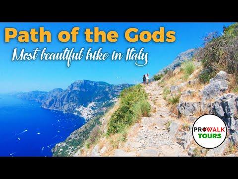 Hiking Italy's Amalfi Coast - the Path of the Gods  [4K 60fps]