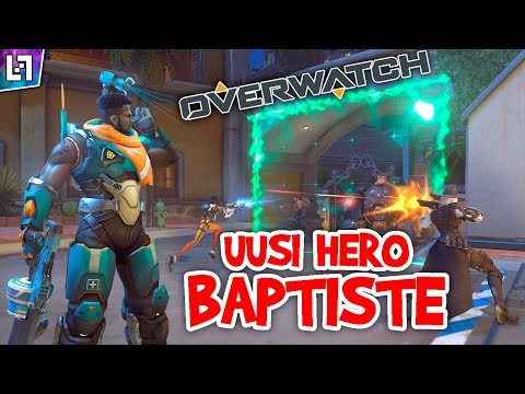 Baptiste!  -  [Overwatch] thumbnail