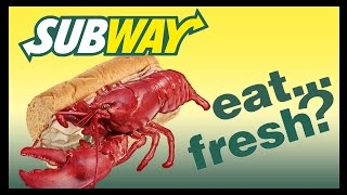 Something Fishy From Canadian Subway!! - Food Feeder