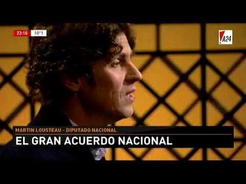 Luis Novaresio Entrevista - Martín Lousteau