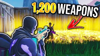 I Scammed This Scammers 1,200+ Weapons! (Scammer Gets Scammed) In Fortnite Save The World Pve
