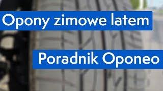 Opony zimowe latem ● Poradnik Oponeo™