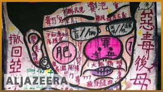 Hong Kongers protest extradition bill through art
