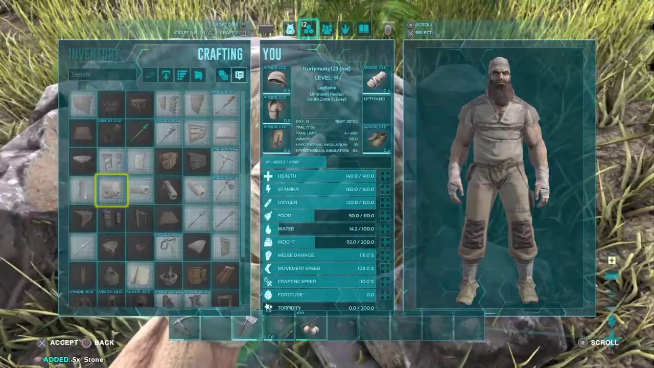 Ark Survival Evolved Ep 9 Stone Walls Youtube