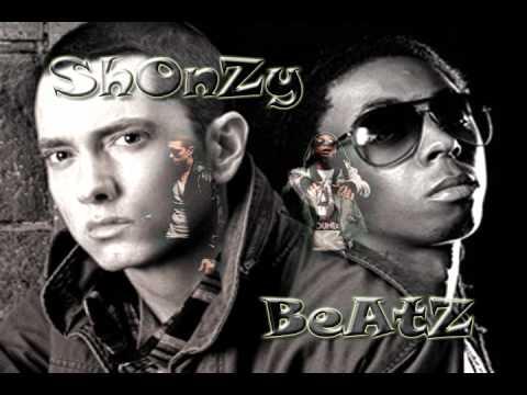 Eminem ft Lil Wayne - No love Instrumental (REMAKE) by ShonzY BeatZ (no samples all played)