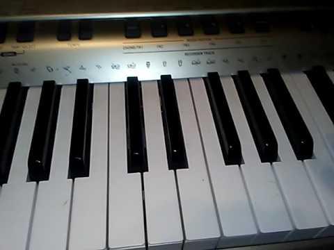 How to play xxxtentacion teeth on piano the right way