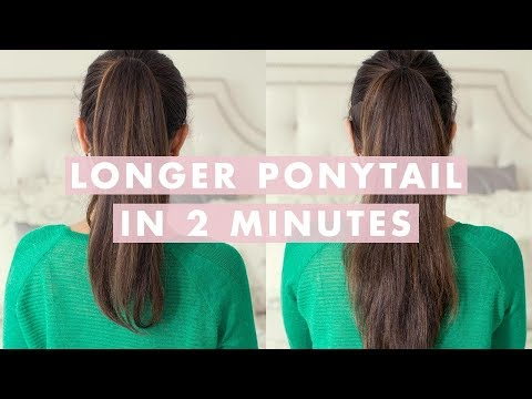 Do You Want To Look Your Hair Much Longer Than It Really Is