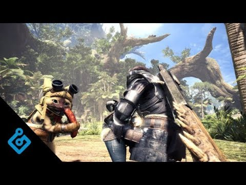 Watch A Single Player Quest From Monster Hunter World (No Commentary)