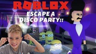 DID I ESCAPE IL MINION DISCO PARTY?!!?? | Proprietà Roblox . Servitori