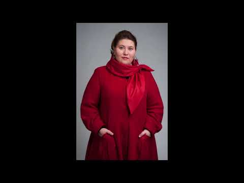 Пальто для полных женщин -  стильное очарование