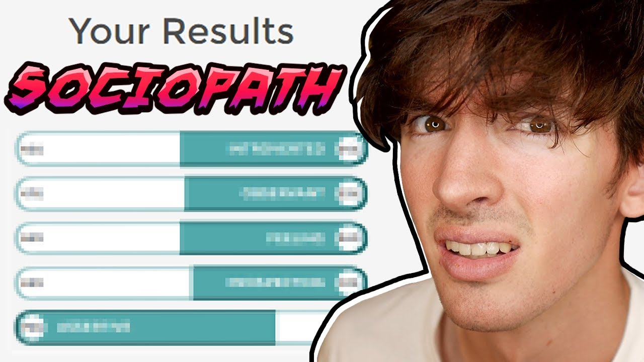 I took a personality test...