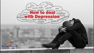 How to deal with Depression?   By Smt. Hansaji