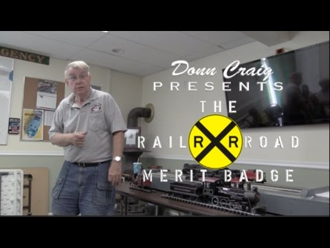 Scout Railroad Merit Badge