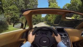 2016 Aston Martin Vanquish Volante POV Test Drive