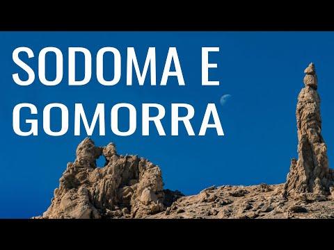 As ruínas de Sodoma e Gomorra (Israel 2010)